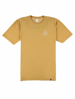 HUF T-Shirt Essentials jaune