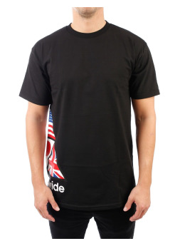 HUF T-Shirt Stadium Offsides S/S noir