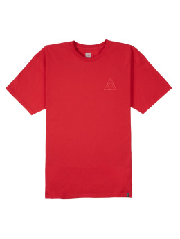 HUF T-Shirt Triple Troangle rot