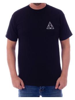 HUF T-Shirt Essentials Tt SS Tee T schwarz