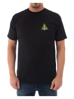 HUF T-Shirt Disaster Ops Triple Triangle schwarz