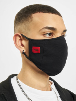 Hugo Iné 3-Pack Face Mask èierna