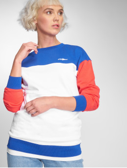 Illmatic Pullover Colorblock weiß