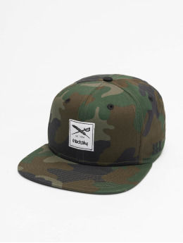 Iriedaily Snapback Cap Flag camouflage