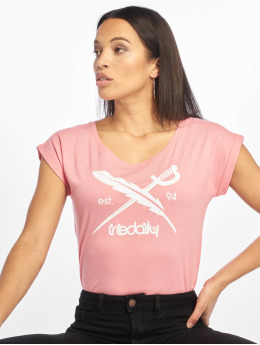 Iriedaily T-Shirt The Flag pink