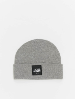 Jack & Jones Čiapky jacOtto  šedá