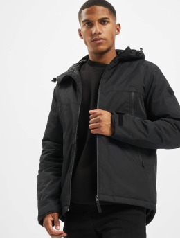 Jack & Jones Демисезонная куртка jcoBeatle  черный