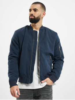 Jack & Jones Куртка-бомбардир jprDome синий