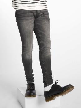 Jack & Jones Облегающие джинсы jjiTom jjOriginal Am 817 черный