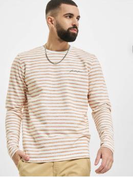 Jack & Jones Пуловер jjStripe оранжевый