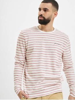 Jack & Jones Пуловер jjStripe розовый