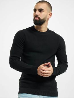 Jack & Jones Пуловер jjeAaron Knit Noos черный