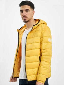 Jack & Jones Стеганая куртка jjeMagic желтый