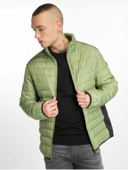 Jack & Jones Стеганая куртка jjeChicago зеленый