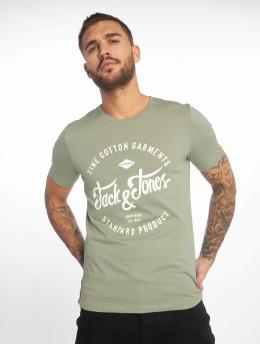 Jack & Jones Футболка jjeRafa зеленый