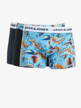 Jack & Jones  Shorts boxeros jacPrint 3 Pack azul