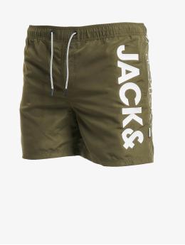 Jack & Jones Badeshorts jjiAruba jjSwim AKM Jones STS  olive