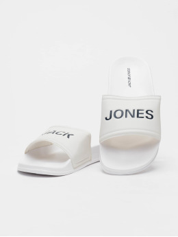 Jack & Jones Badesko/sandaler jfwLarry hvit
