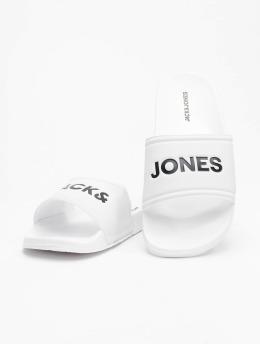 Jack & Jones Badesko/sandaler jfwLarry Pool hvit