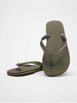 Jack & Jones Badesko/sandaler jfwBasic oliven