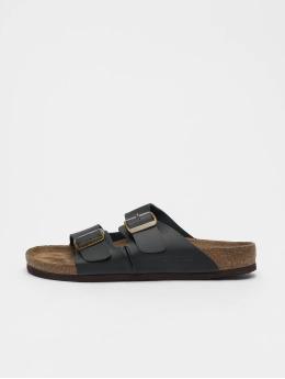 Jack & Jones Badesko/sandaler jfwCroxton Leather svart