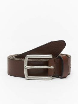 Jack & Jones Belt jjiLee Leather  brown