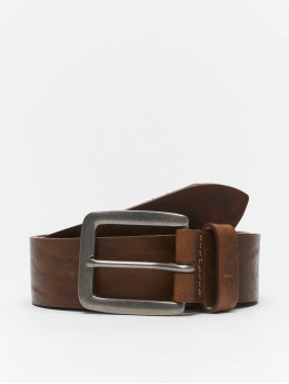 Jack & Jones Belts jacVictor Leather Noos  brun