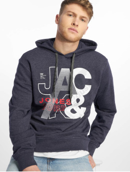 Jack & Jones Bluzy z kapturem jcoTilly niebieski