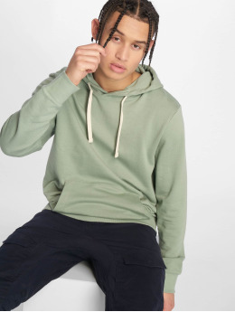 Jack & Jones Bluzy z kapturem jjeHolmen zielony