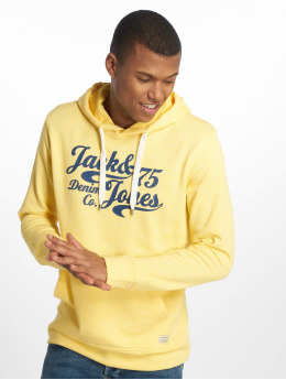 Jack & Jones Bluzy z kapturem jjePanther Sweat zólty