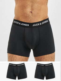Jack & Jones Bokserit jacMircofibre 3-Pack musta