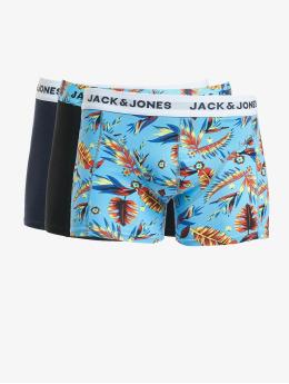 Jack & Jones Bokserit jacPrint 3 Pack sininen