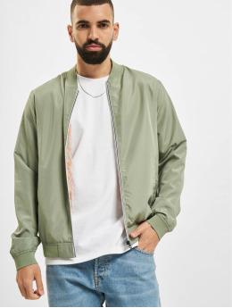 Jack & Jones Bomber jacket JOR Havana green