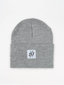 Jack & Jones Bonnet jacLong  gris