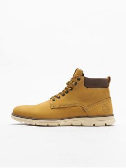 Jack & Jones Boots jfwTubar Nubuck geel