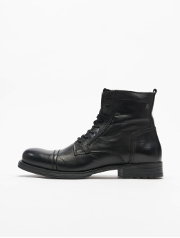 Jack & Jones Boots fwRussel Leather Warm gray