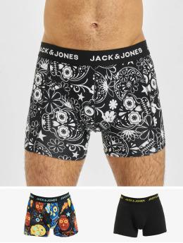 Jack & Jones Boxershorts jacSugar Skull 3-Pack schwarz