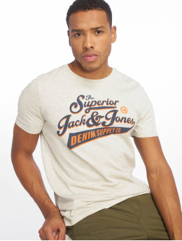 Jack & Jones Camiseta jjeLogo blanco