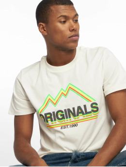 Jack & Jones Camiseta jorMonument blanco