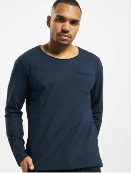 Jack & Jones Camiseta de manga larga jorAutumn Organic azul