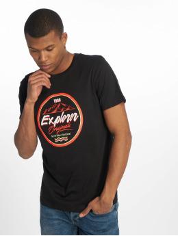 Jack & Jones Camiseta jorMonument negro