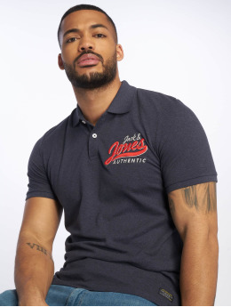 Jack & Jones Camiseta polo jorVarcity azul
