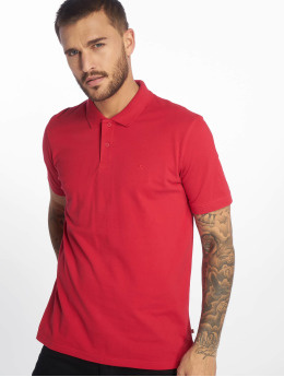 Jack & Jones Camiseta polo jjeBasic rojo