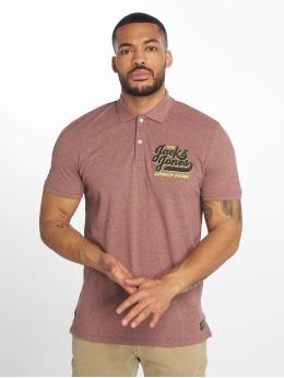 Jack & Jones Camiseta polo jorVarcity rosa