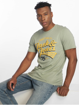 Jack & Jones Camiseta jjeLogo verde