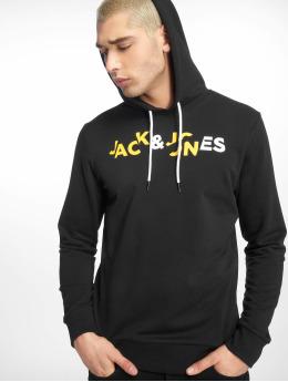 Jack & Jones Felpa con cappuccio jcoBooster nero