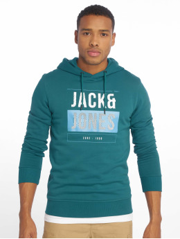 Jack & Jones Hoodie jcoMario blå