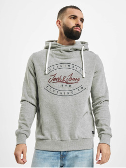 Jack & Jones Hoodie jorStationary grey