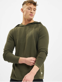 Jack & Jones Hoodie jjBronco Knit olive