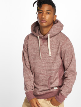 Jack & Jones Hoodie jjeSpace Melange red